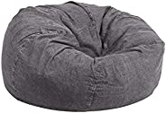 Regal In House Jeans Bean Bag Chair Large Size - Barrel Grey - JBB0159S019