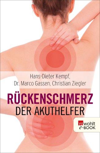 Rückenschmerzen Therapie (Rückenschmerz: Der Akuthelfer)