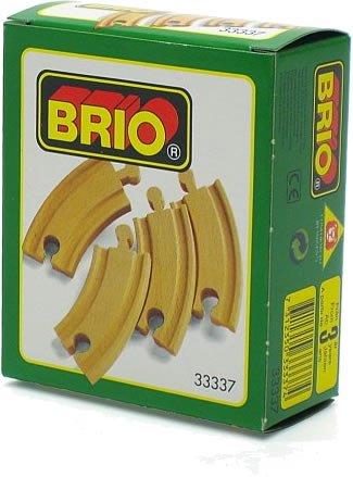 BRIO Curved Track
