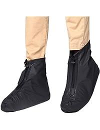 zhbotaolang Unisex Impermeable Zapatos de Lluvia Cubre Reutilizables Botas de Nieve Cubrezapatillas Viajes Rain Gear