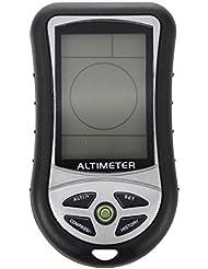 8 en 1 altimetro digital - SODIAL(R)8 en 1 Funcion Digital LCD Compas Altimetro Barometro Termico Temperatura (Negro)