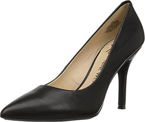 Nine West Women's Fifth9x9 Black Leather/Leather 6 W US