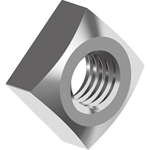 200 Stück Vierkantmuttern DIN 557 - Edelstahl A2 M 6