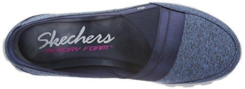 Skechers Damen Ez Flex 2Fascination Geschlossene Ballerinas Blau (Nvy)