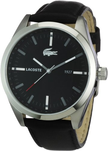 Lacoste Everyday Unisex Analogue Watch with black Dial Analogue Display - 2010611