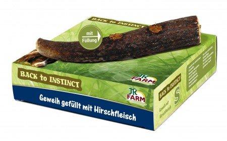 jr-farm-back-to-instinct-geweih-gefullt-mit-hirschfleisch-grosse-120g-170g