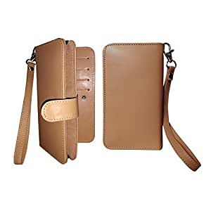 Fastway Pu Leather Pouch Carry Case Wallet Cover For ZTE Grand X 3