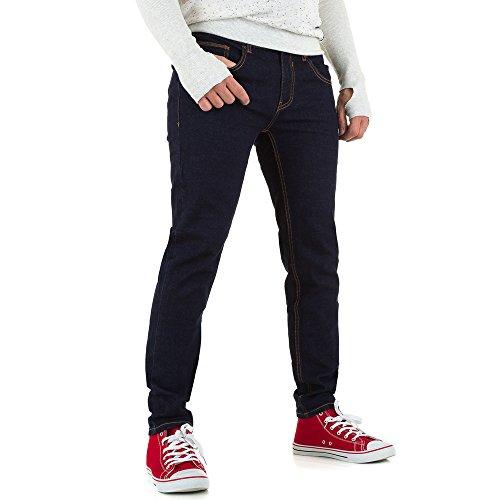 Slim Fit Jeans Für Herren bei Ital-Design Dunkelblau