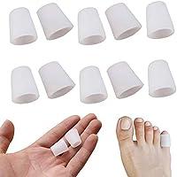 Zehen FingerSchutz, Konesky 10 Paar Zehen Röhren Finger Abdeckung Silikon-ZehenSchutz-Gel-Hülse Blisters Corrector... preisvergleich bei billige-tabletten.eu