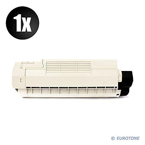 High Quality Eurotone Toner Cartridges in Schwarz für Oki C610 CDN/ C610 DN/ C610 DTN/ C610 N - Premium Qualität Black