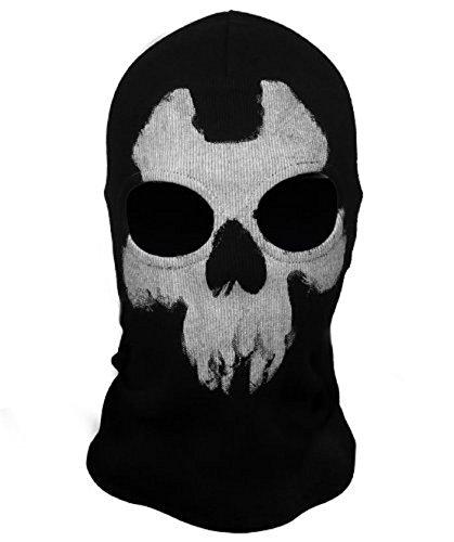 Chamber37 Call of Duty 10 Ghosts Hood Skull Skeleton Head Mask Balaclavas- Alex Ajax Johnson