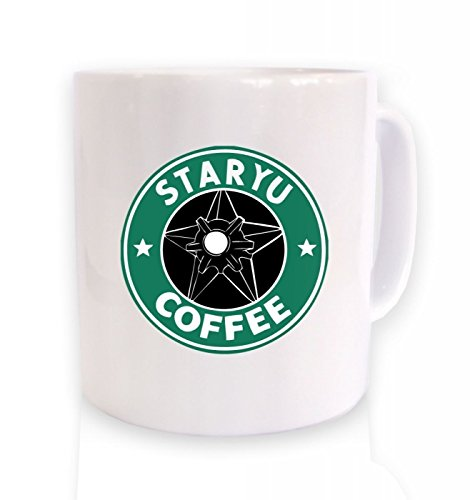 Price comparison product image Mensuk 11 OZ Coffee Mugs with Funny Mug - Staryu Coffee - Japanese Anime(Both Sides),High Quality Ceramic Mugs