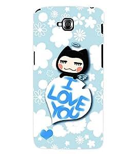 ColourCraft Love Back Case Cover for LG G PRO LITE D680
