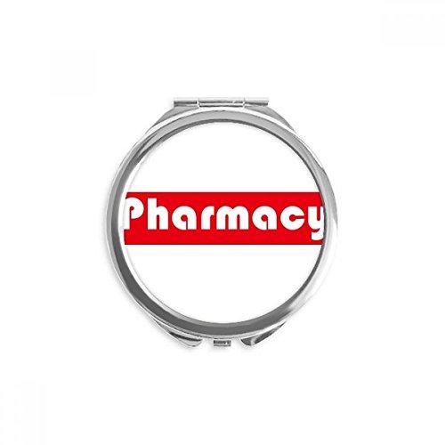 DIYthinker Y supuesto Major Farmacia Espejo redondo