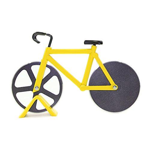 Fahrrad Pizzaschneider, SNAKE M Pizza Messer mit Antihaft-Beschichtung-Serviergeschirr - Sie Können Die Essen Cookie-teig,