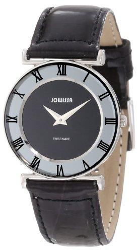 Jowissa - J2.006.M - Montre Femme - Quartz Analogique - Bracelet Cuir Noir