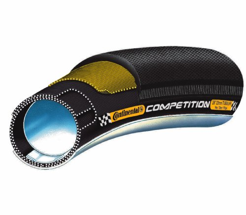 Tubular 700x25 carretera Continental Competition negro