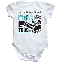 HippoWarehouse Soy La Prueba de Que Papá No Hace Ciclismo Todo El Tiempo body bodys pijama