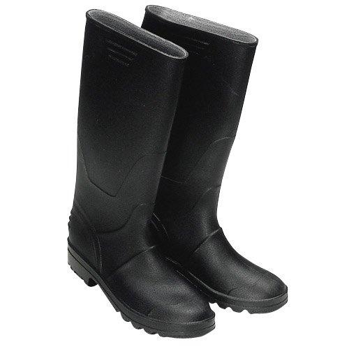 Wolfpack 15010103 - Botas goma altas, tamaño 43, color negro