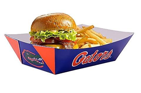 Southern Champion Plateau Jeu Jour en carton Plateau de nourriture, Papier, Florida Gators, 3 lb.