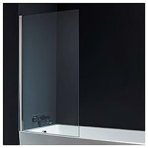 Pare-baignoire 1 volet verre 10 mm 140*85 cm