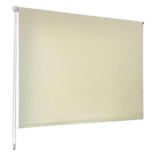 Casa pura tenda a rullo semitrasparente | effetto penombra | facile montaggio | diversi colori e misure | beige | 90x150 cm