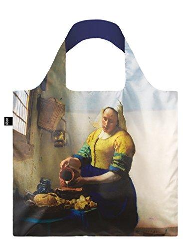 LOQI JOHANNES VERMEER The Milkmaid & Irma Boom DNA 19 Bag - Einkaufstasche The Milkmaid