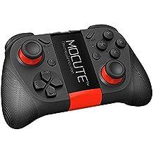 Controlador de juego inalámbrico Bluetooth V 3.0, mando a distancia recargable Teepao para teléfonos inteligentes Android iPhone Controlador de TV / PC iPad Control remoto para auriculares VR 3D Bluetooth