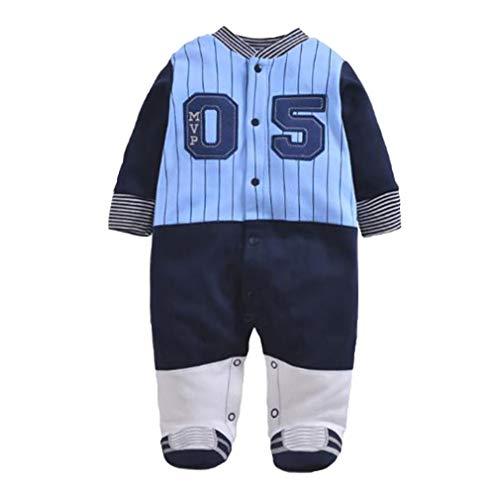 Hibote Baby Kleidung langärmelige Overall Weicher Baumwolle Baby Strampler Baseball Uniform New Born Baby Kleidung