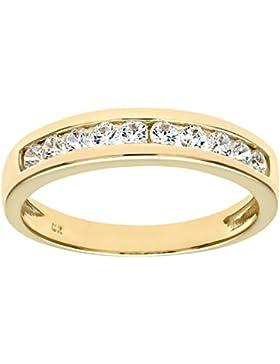 Citerna Damen-Ring 9 Karat (375) Gelbgold Zirkonia DIV 126YQ-p