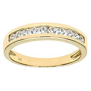 Citerna Damen-Ring 9 K 375 Gelbgold Zirkonia