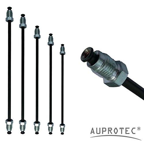 Preisvergleich Produktbild Bremsleitung Ø 4, 75 mm einbaufertig gebördelt (E) mit Nippel 160mm - 3050mm Auswahl: (Länge 2750 mm Bördel E)