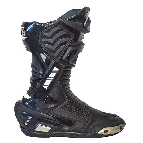 Botas Axxis AX-BR2 Racing Unisex Negro (45 EU)