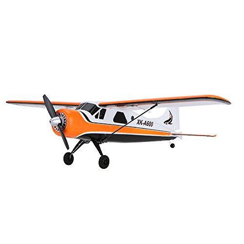 Goolsky XK DHC-2 A600 Avión RC 2.4G 5CH motor sin escobillas 3D6G