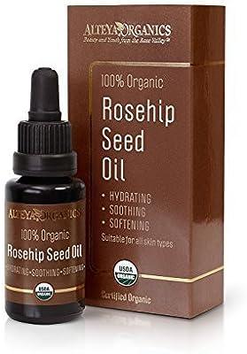 Alteya Organics Aceite de Semillas de Rosa Mosqueta Transparente (20 ml)