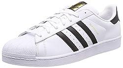 adidas Herren Superstar Fitnessschuhe, Weiß (Ftwbla/Negbas 000), 54 EU