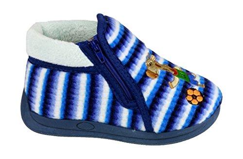 Mirak Safari Pantoufles blue
