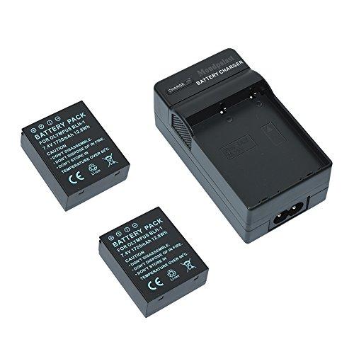 mondpalast caricabatteria 2x batteria