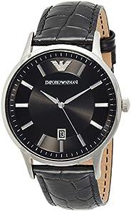 Emporio Armani Wrist Watch For Men, AR11186, Black