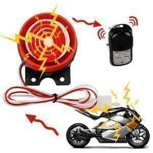 Motorcycle-Scooter Alarm immobilser With Remote Engine Start