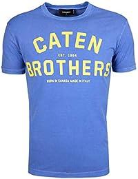 c1e9e8055bbb70 Amazon.fr   Dsquared2 - T-shirts, polos et chemises   Homme   Vêtements