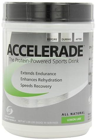 Accelerade Sports Drink Powder 30 Serving Lemon Lime by Accelerade