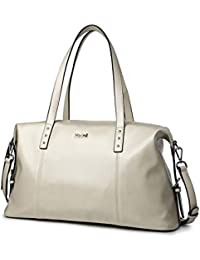 Kadell PU Leather Weekender Weekender Over Duffel Bag Borsa da palestra per le signore