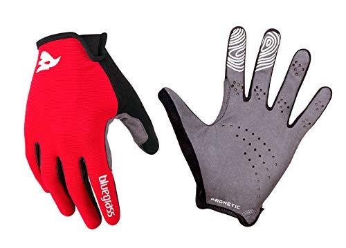 bluegrass Magnete Lite Gloves red/white Größe M 2017 Fahrradhandschuhe