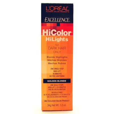 L'Oreal Excel Excel Hicolor Highlights Goldenes Blond 51 ml -