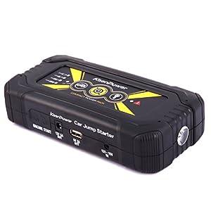 Keenpower Cargador móvil portátil del arrancador del salto del coche de la emergencia 18000mAh 900A para la batería de coche 12V Gasolina Diesel Auto (yellow)