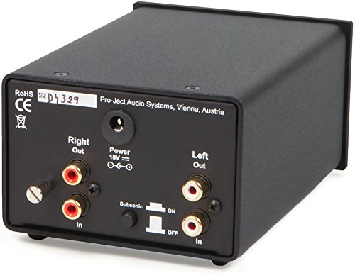 Pro-Ject Phono Box DS+ Phono-Vorverstärker silber