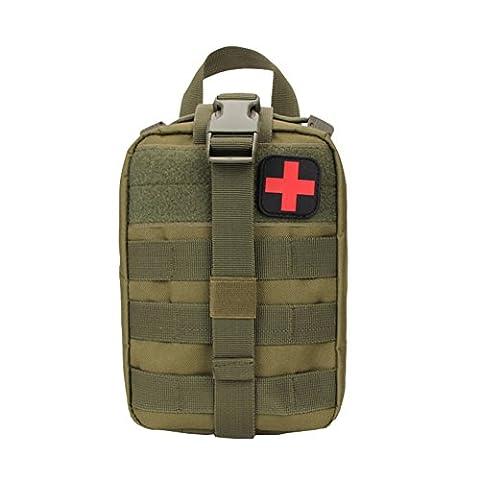 Sweetds Multifunktions Taktische Erste Hilfe Tasche Medizinische Notfalltasche für Outdoor Zuhause Sport Reisen
