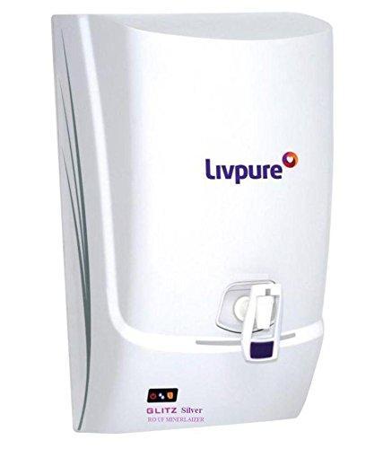 Livpure Glitz Silver RO UF Mineralizer 7 Ltr RO Water Purifier