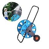 iShine Schlauchwagen Gartenschlauch 43cmx13cmx35cm Schlauchaufroller für Gardena Gartenbewässerung Bodenreinigung usw